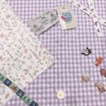 裁縫初心者の方も安心!通園・通学準備におすすめの動物デザインの布や、本をご紹介☆
