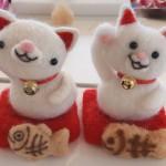 羊毛フェルトで猫作り!羊毛フェルト体験教室に行ってきました♪
