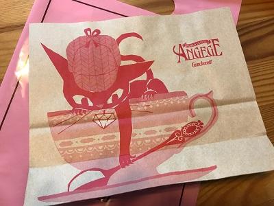 アンジュジュ紙袋