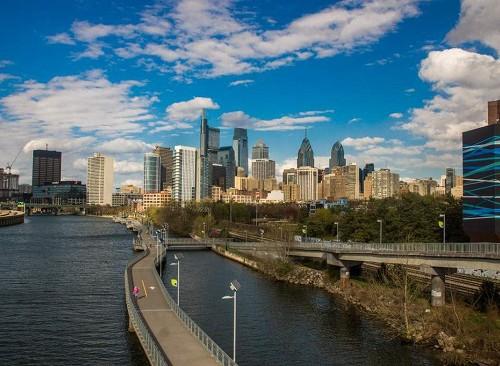 フィラデルフィアの風景