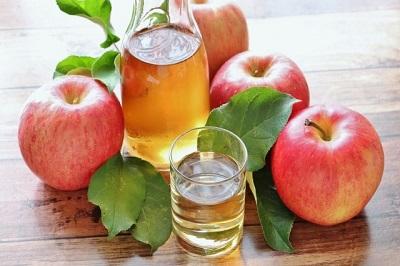 リンゴとリンゴ酢