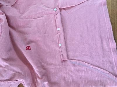 リメイク中のTシャツ