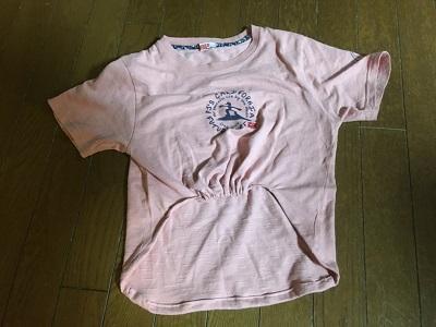 リメイク後のTシャツ