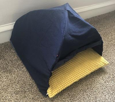 猫用テント型ベッド