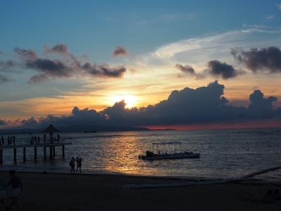 石垣島のサンセットビーチ