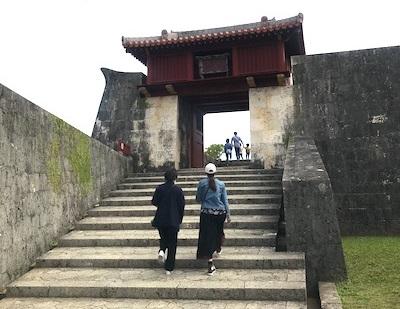 首里城の景色